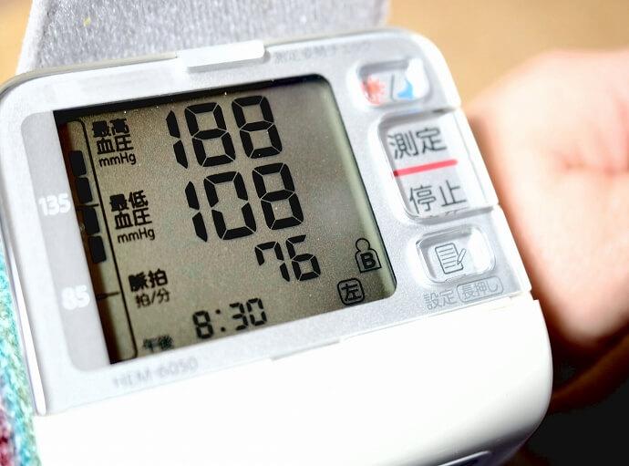 血圧が高いと指摘された