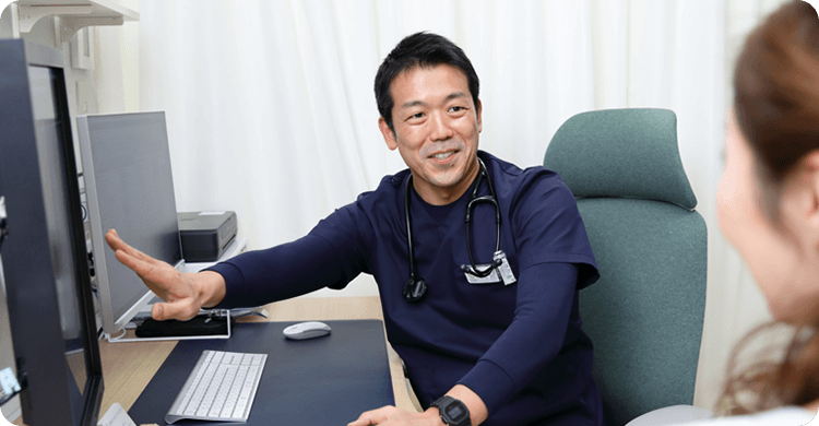 総合内科専門医・腎臓内科専門医による丁寧な診療